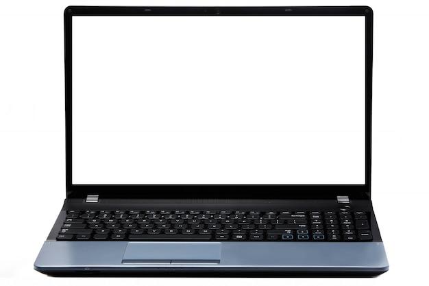 Laptop moderno Foto Premium