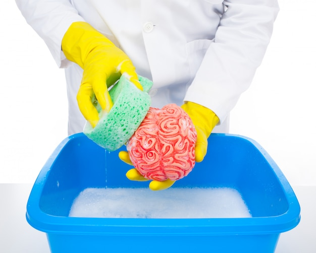Lavagem cerebral Foto Premium