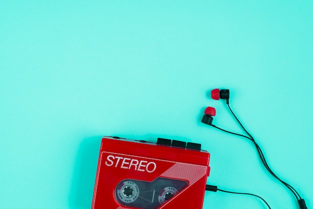 Leitor de cassetes Foto gratuita