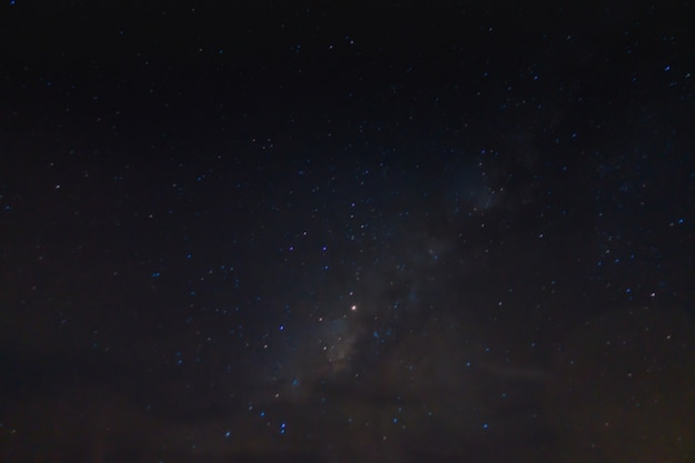 Leitoso abstratos galáxia nebulosa campo Foto gratuita