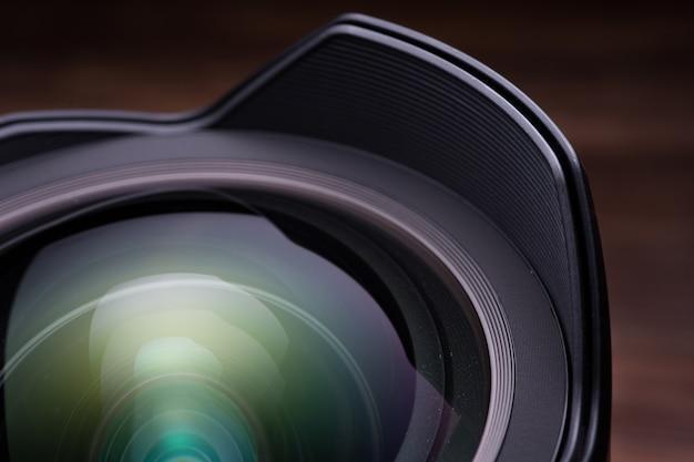 Lente da câmera slr Foto Premium