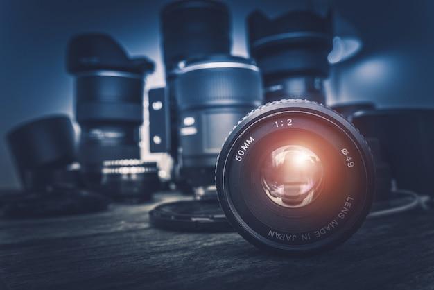 Lentes da câmera Foto gratuita