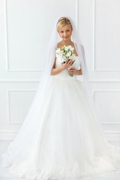 Linda noiva Foto gratuita