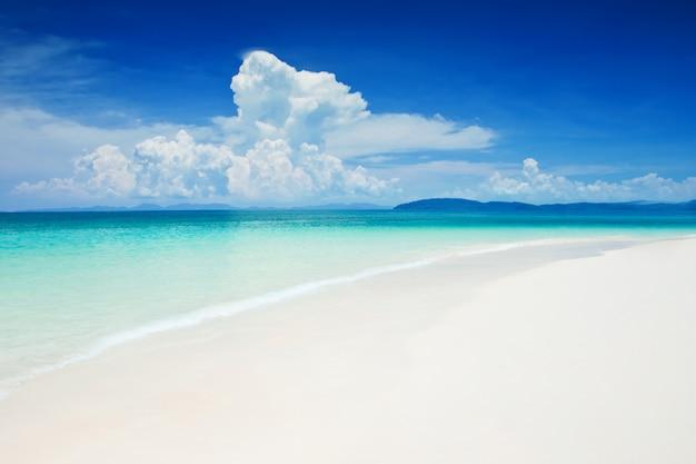 Linda praia Foto Premium