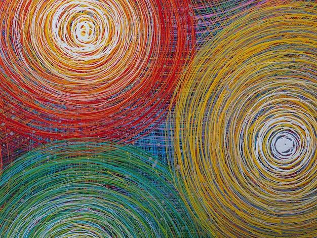 Linhas abstratas fundo colorido com textura. Foto Premium