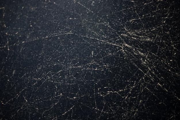Linhas com dush em vidro preto Foto Premium