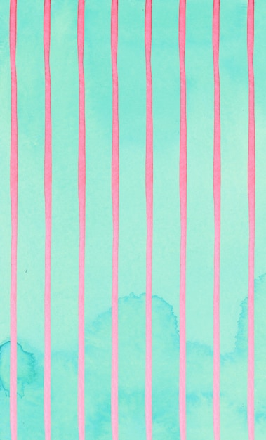 Listras rosa bonitos abstraem padrão em fundo de hortelã. Foto Premium