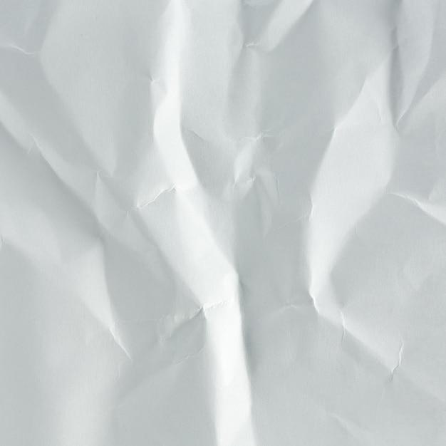 Livro branco de rugas acima do fundo Foto Premium