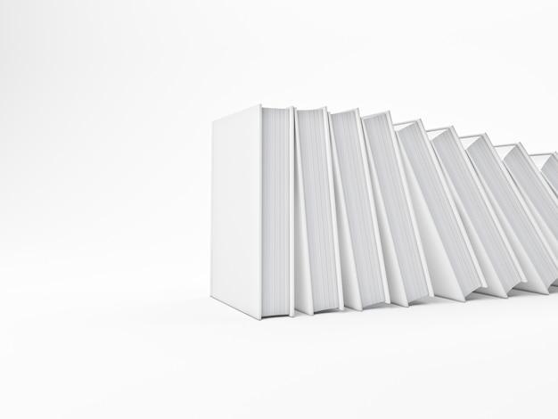 Livros caídos Foto Premium