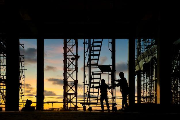 Local de construção Foto Premium