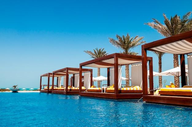 Local de luxo resort Foto Premium