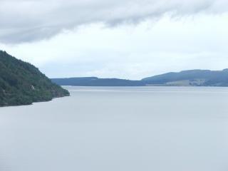 Loch ness, nuvens Foto gratuita