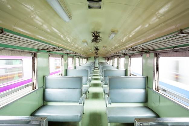 Locomotiva do assento vazio Foto Premium