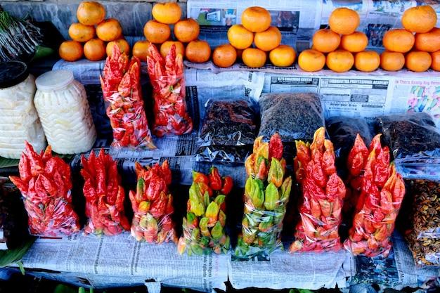 Loja de frutas Foto Premium