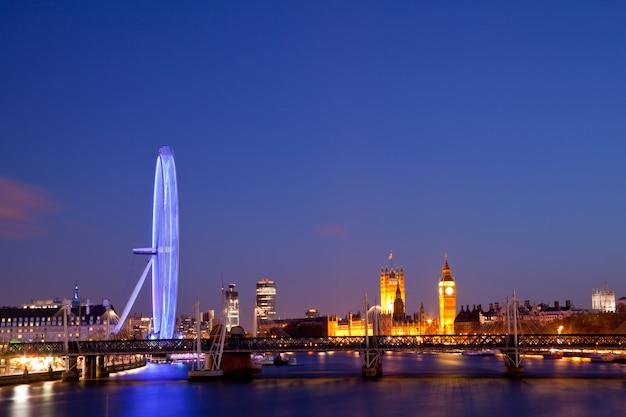 London eye Foto Premium