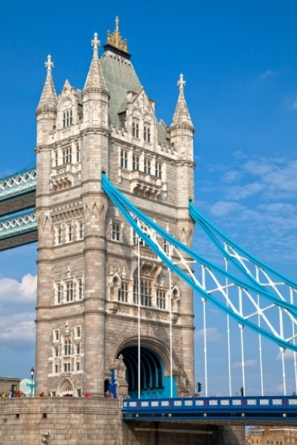 London tower bridge hdr Foto gratuita