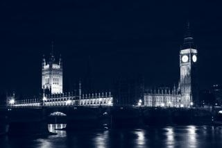 Londres parlamento em imagem noite Foto gratuita