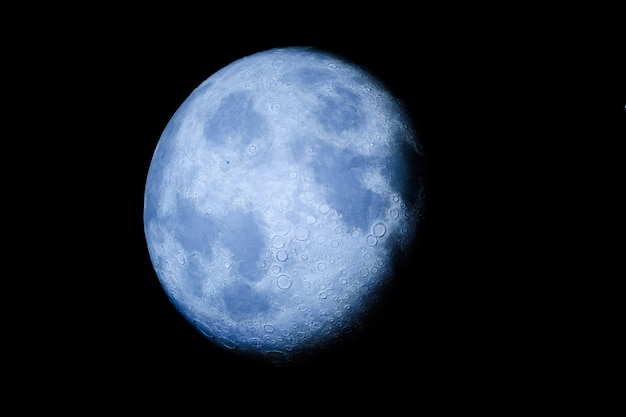 Lua no céu Foto Premium