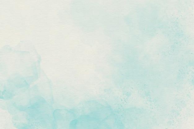 Luz azul aquarela fundo suave Foto Premium