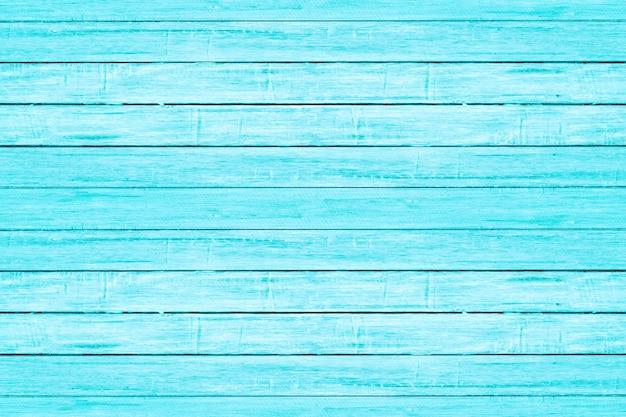Luz brilhante - textura de madeira da prancha da cor azul. fundo de madeira praia vintage. Foto Premium