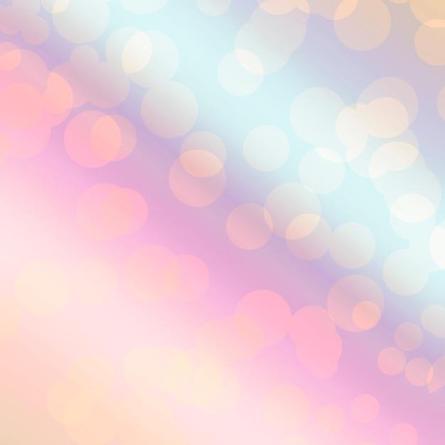 Luz de fundo bokeh Foto gratuita