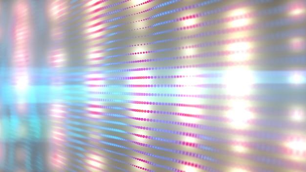 Luz de fundo led Foto Premium