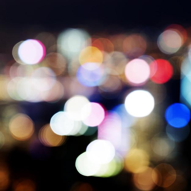 Luzes abstratas Foto Premium