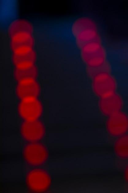 Luzes da cidade turva Foto gratuita