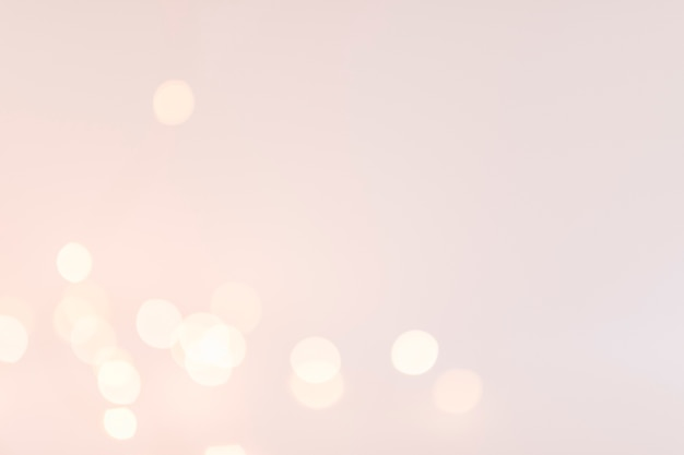 Luzes de bokeh em ruddiness Foto gratuita