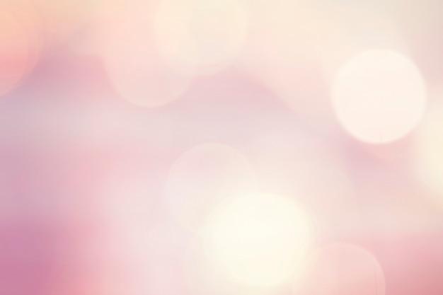 Luzes de bokeh rosa pastel Foto gratuita
