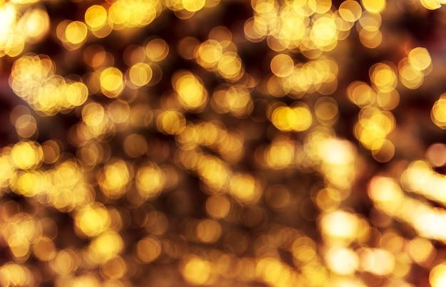 Luzes de estilo bokeh turva à noite Foto gratuita