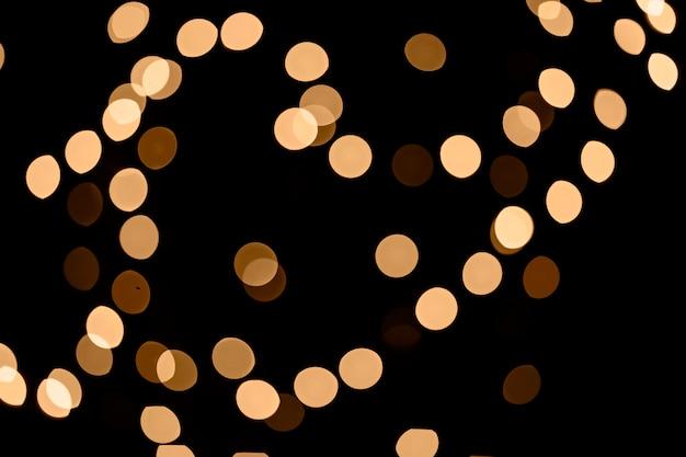 Luzes de fadas desfocadas Foto gratuita