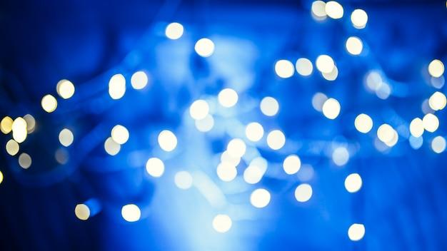 Luzes de guirlanda Foto gratuita