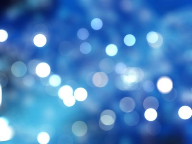 Luzes de natal bokeh Foto gratuita