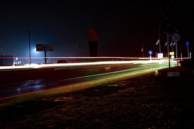 Luzes de rua de baixo ângulo Foto Premium