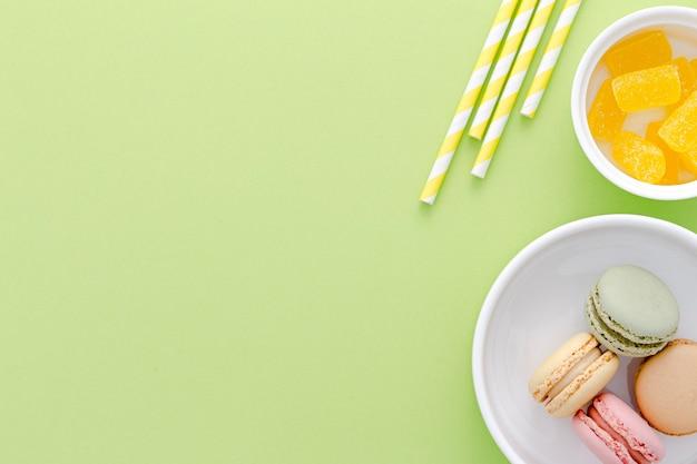 Macarons para festa Foto gratuita