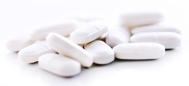 Macro de pílulas Foto gratuita
