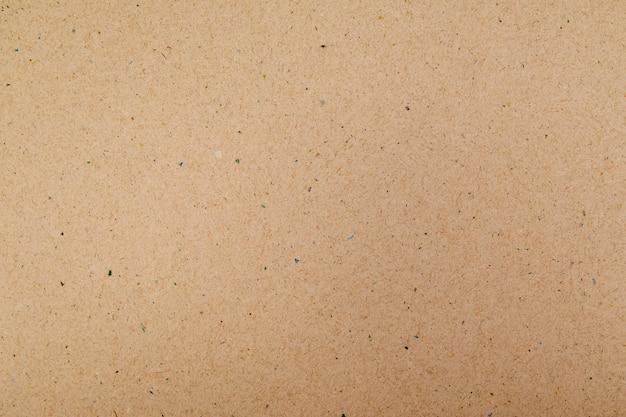 Macro de reciclar papel marrom para o fundo Foto Premium