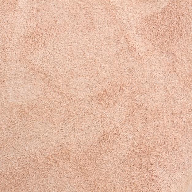 Macro de textura de camurça de porco marrom Foto Premium