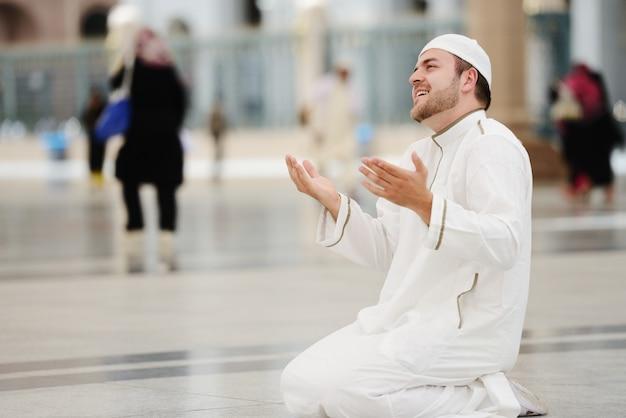Makkah kaaba hajj muslims Foto Premium