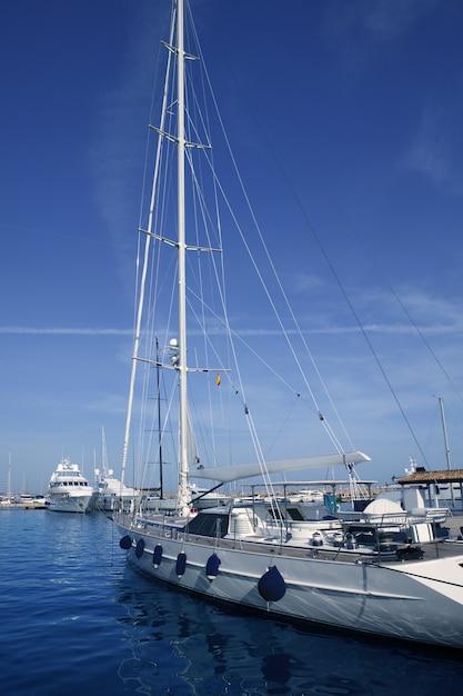 Mallorca puerto portals porto portuário marina espanha Foto Premium
