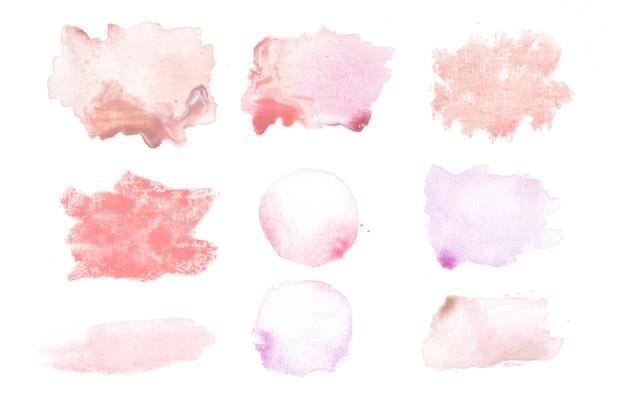 Manchas vermelhas e cor de rosa Foto gratuita