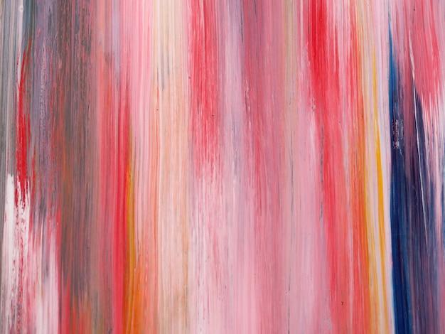 Mão desenhar pintura a óleo colorida abstrato e textura. Foto Premium