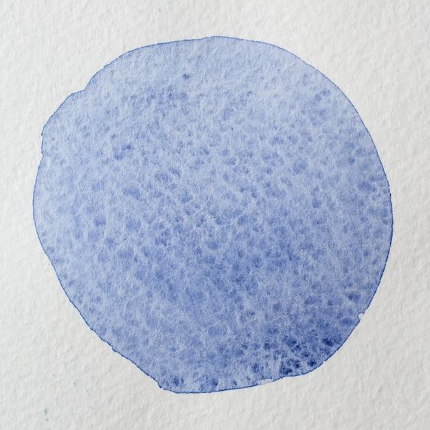 Mão violeta azul marinho desenhado fundo abstrato aquarela círculo quadrado. espaço para texto, rotulação, cópia. modelo de cartão postal redondo. Foto Premium