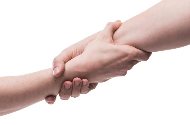 Mãos, ajudando, gesto Foto Premium
