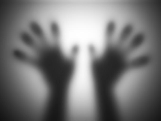 Mãos translúcidas Foto gratuita