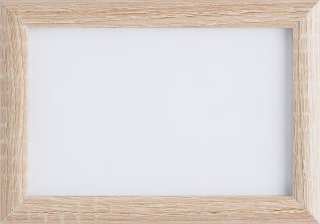 Maquete de moldura de madeira minimalista Foto gratuita