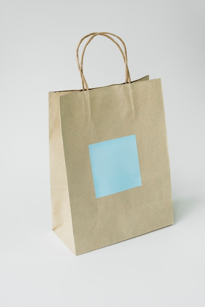 Maquete de saco de papel Foto Premium