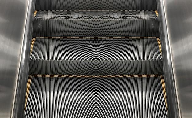 Máquina de escada rolante vazia indoor Foto Premium
