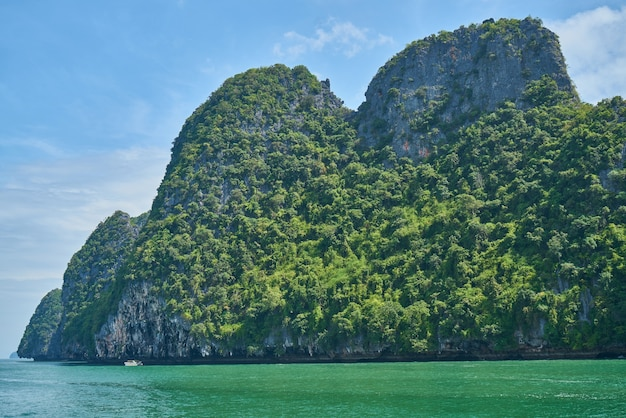 Mar de andamã, tailândia Foto gratuita